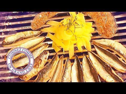 Sardines aux tagliatelles de mangue