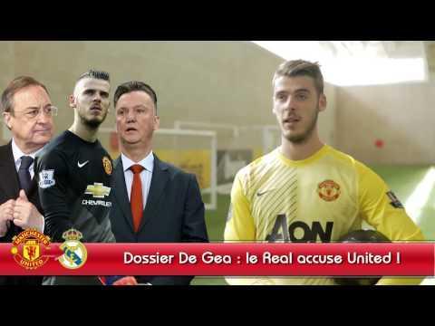 Fiasco De Gea : Le Real Madrid accuse Manchester United !