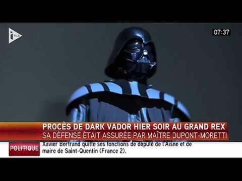 Le zapping du 16/12 : Le procès surréaliste de Dark Vador !