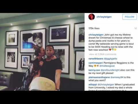John Legend a offert à Chrissy Teigen le cadeau de ses rêves