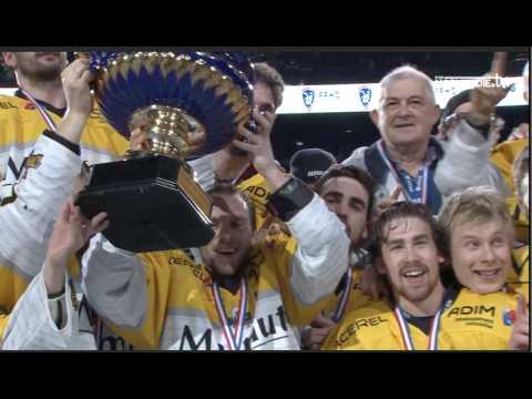 Les Dragons vainqueur de la Coupe de France de Hockey sur glace !