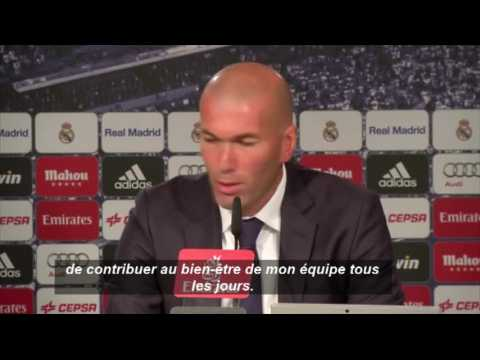 Zidane ne veut pas être comparé à Pep Guardiola