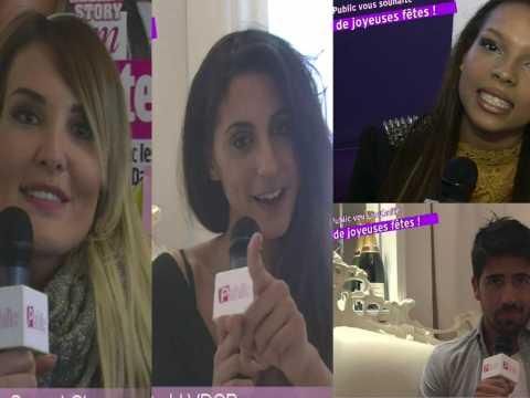 Exclu Vidéo : Marie Garet, Elodie (SS8), Cynthia (LPDA3), Stéfan (LVDCB) : Ils souhaitent un joyeux Noël à Public !