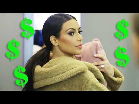 Kim et Kanye reçoivent des offres de plusieurs millions de dollars pour les photos de Saint