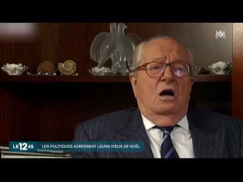 Les chants de Noël revisités par Jean-Marie Le Pen