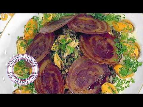 Salade de moules