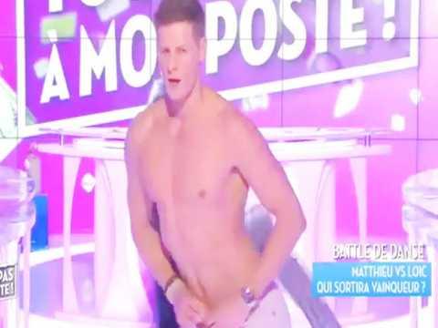 Exclu Vidéo : Matthieu Delormeau : Improvise un striptease et provoque l'hystérie !