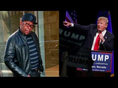 Bobby Brown, comme beaucoup d'autres stars à Hollywood, n'est pas un fan de Donald Trump