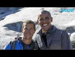 Obama Urges Action on Climate Change, Hikes Alaska With Bear Grylls