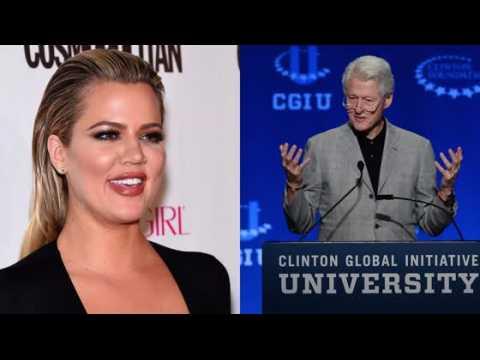 Khloe Kardashian : Je m'amuserais volontiers avec Bill Clinton !
