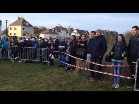 Caen - PSG : la foule à Ouistreham pour voir les Parisiens avant la rencontre