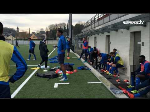 Les joueurs du HAC de retour à l'entraînement