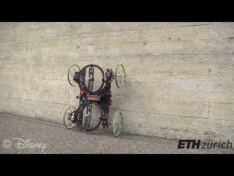 VertiGo, un robot capable de grimper sur les murs