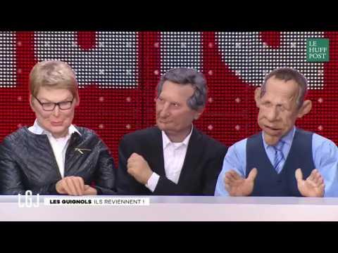 Pour leur retour, les Guignols égratignent Bourdin