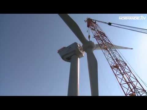 L'éolien offshore arrive en Normandie