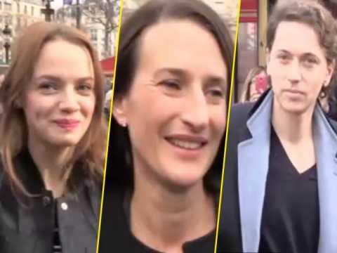 Exclu vidéo : Sara Forestier, Camille Cottin, Raphael : Les nommés des César 2016 réunis au Fouquet's !