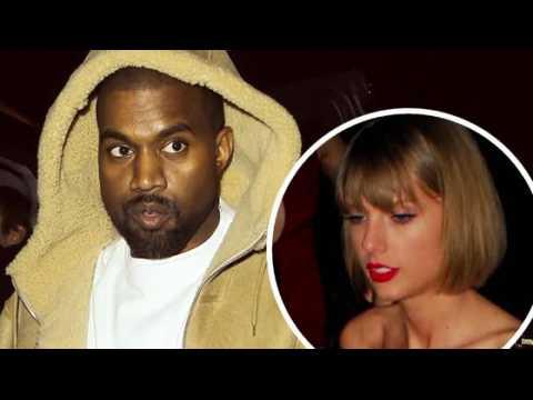 Kanye West ne peut pas s'empêcher de parler de Taylor Swift