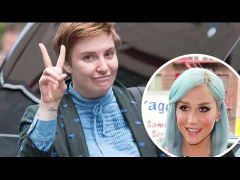 Lena Dunham prend la défense de Kesha dans une lettre ouverte