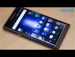 Which Phone Did BlackBerry Make Available On Verizon?
