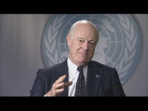 """""""Les choses vont dans le bon sens"""", assure l'émissaire de l'ONU en Syrie"""