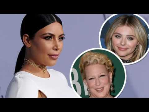 Kim Kardashian critique Bette Midler et Chloë Grace Moretz