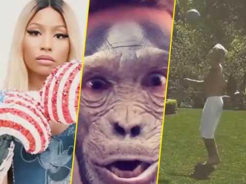 Exclu vidéo : Nicki Minaj, Benjamin Machet, Justin Bieber : leur gros délire sur Instagram !