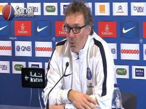 PSG / Lyon - La conf' de presse de Laurent Blanc