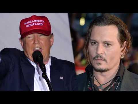 Johnny Depp traite Donald Trump de sale gosse