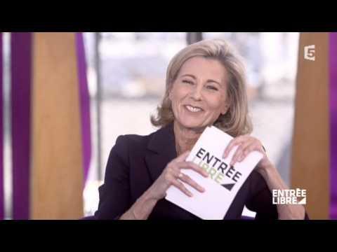 Gros lapsus de Claire Chazal dans Entrée libre - ZAPPING TÉLÉ DU 15/03/2016