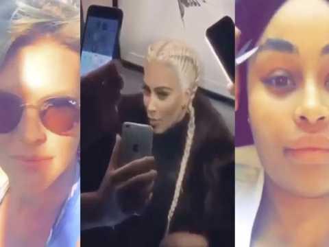 Exclu vidéo : Blac Chyna, Amélie Neten, Kim Kardashian: leur gros délire sur Instagram.