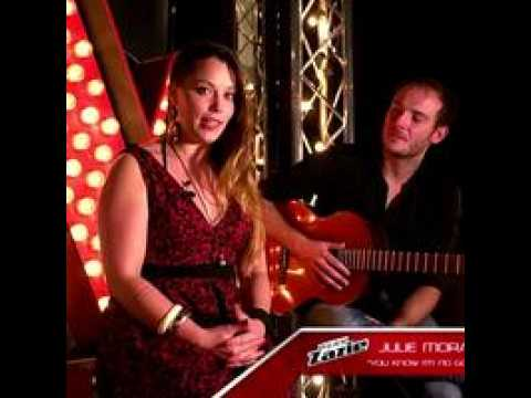 The Voice  : Cover : You know I'm no good – Amy Winehouse – Par Julie Morallès  - TF1