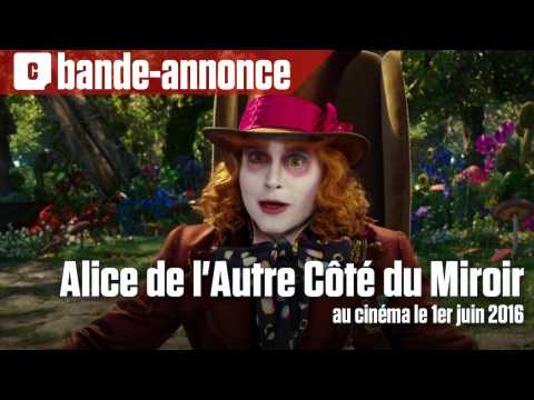 Alice de l 39 autre c t du miroir seconde bande annonce for Miroir miroir streaming vf