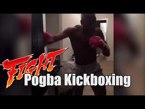Pogba se met au Kickboxing !