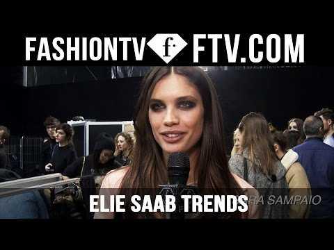 Paris Fashion Week F/W 16-17 - Elie Saab Trends | FTV.com