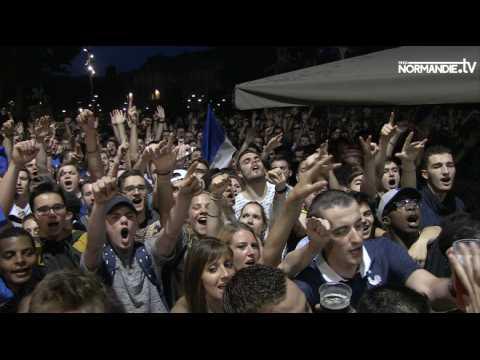 Allemagne-France au coeur du public rouennais