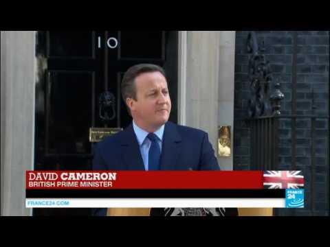Brexit vote: Prime Minister David Cameron announces decision de resign