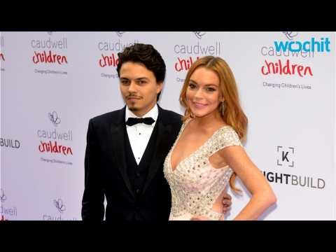 Lindsay Lohan And Fiance Make First Red Carpet Debut