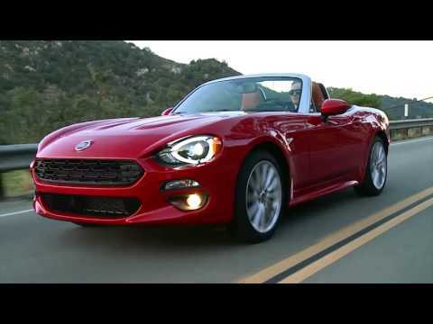 Amazing 2017 Fiat 124 Spider Lusso  Driving Video Trailer