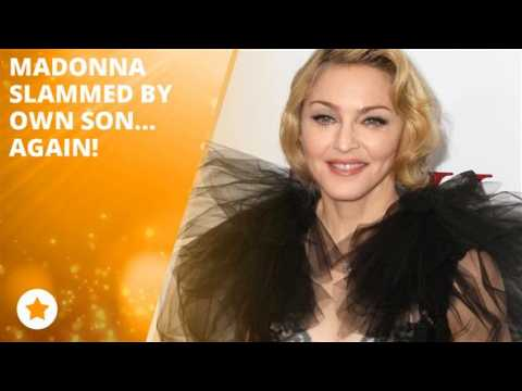 Rocco throws shade at his mother Madonna!