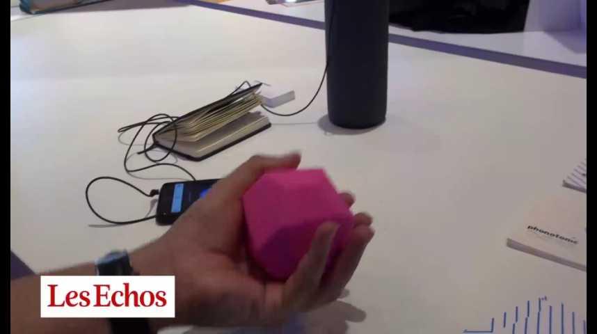 Illustration pour la vidéo Phonotonic, l'objet qui transforme les mouvements en musique