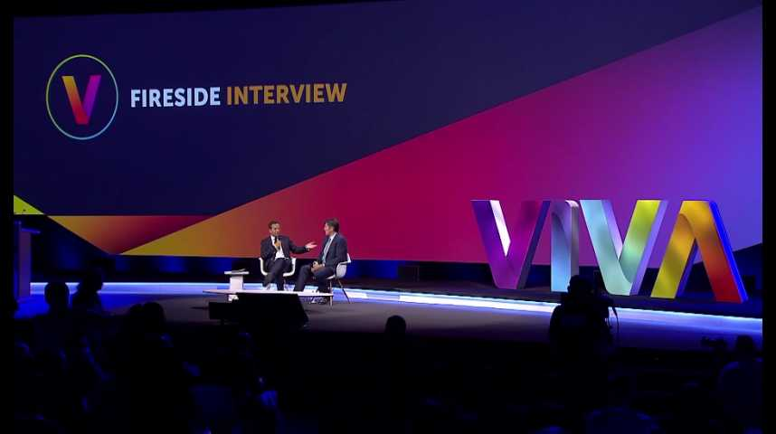 Illustration pour la vidéo VivaTech 2016 : revivez l'interview de Tim Armstrong, CEO d'AOL