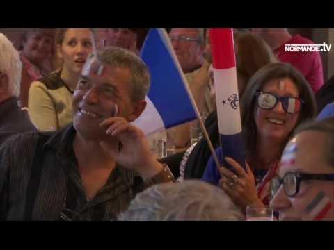 Chaude ambiance dans le Calvados pour France-Islande