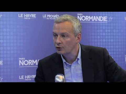 Bruno Le Maire, Député de la 1re circonscription de l'Eure
