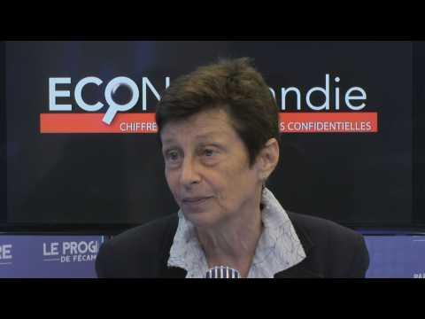 Nicole Klein, préfète de la Région Normandie