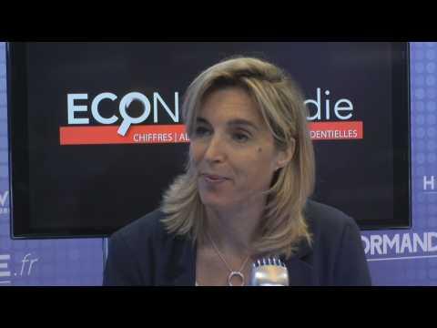 Philippine Lucille, directrice régionale de BPIFrance DR Rouen