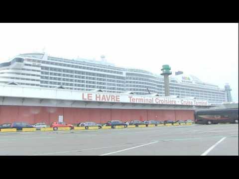 Le Havre mise sur les croisières