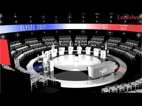 Mode d'emploi du débat présidentiel avec 11 candidats
