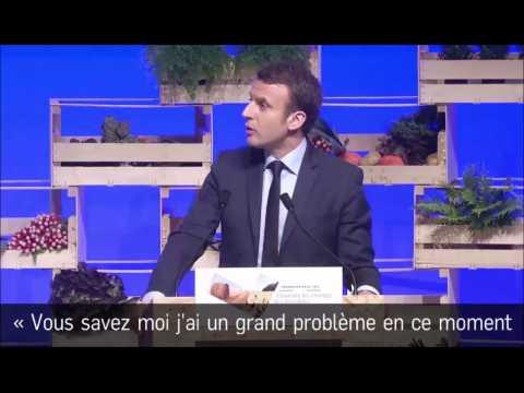 Présidentielle : Macron ironise sur ses nombreux (et encombrants) soutiens