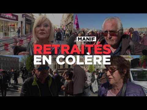 Les retraités manifestent partout en France pour leur pouvoir d'achat