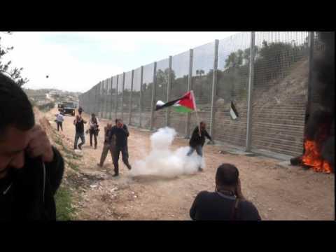 Journée de la terre: échauffourées en Cisjordanie